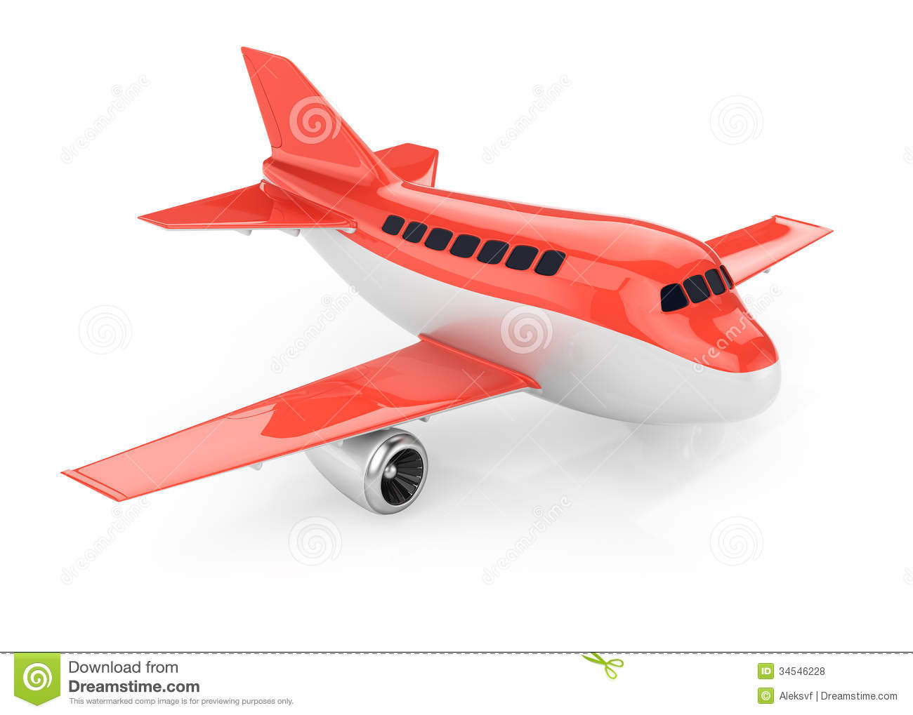 Airplane Royalty Free Stock Photos - Image: 34546228