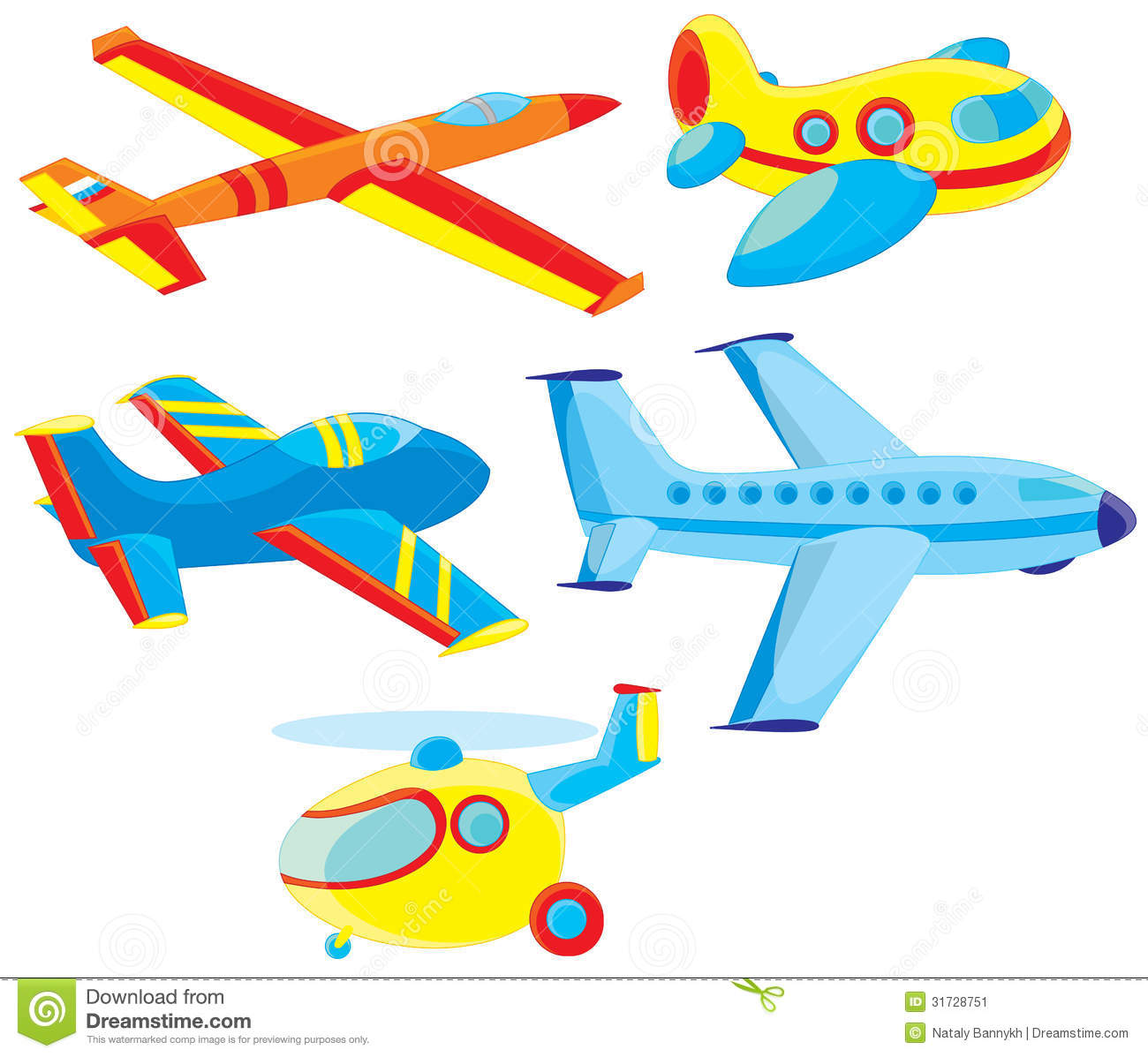airplanes and helicopter stock image image 31728751