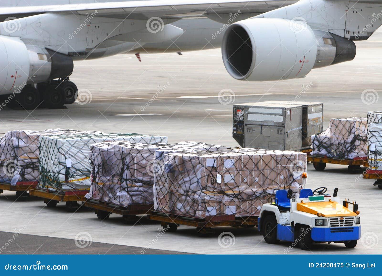 Airport Baggage Handling Royalty Free Stock Photo Image