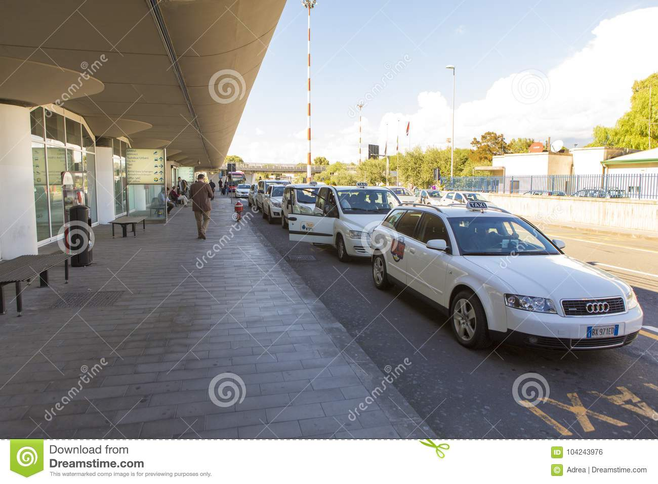 Airport cab`s editorial photo  Image of business, ceiling