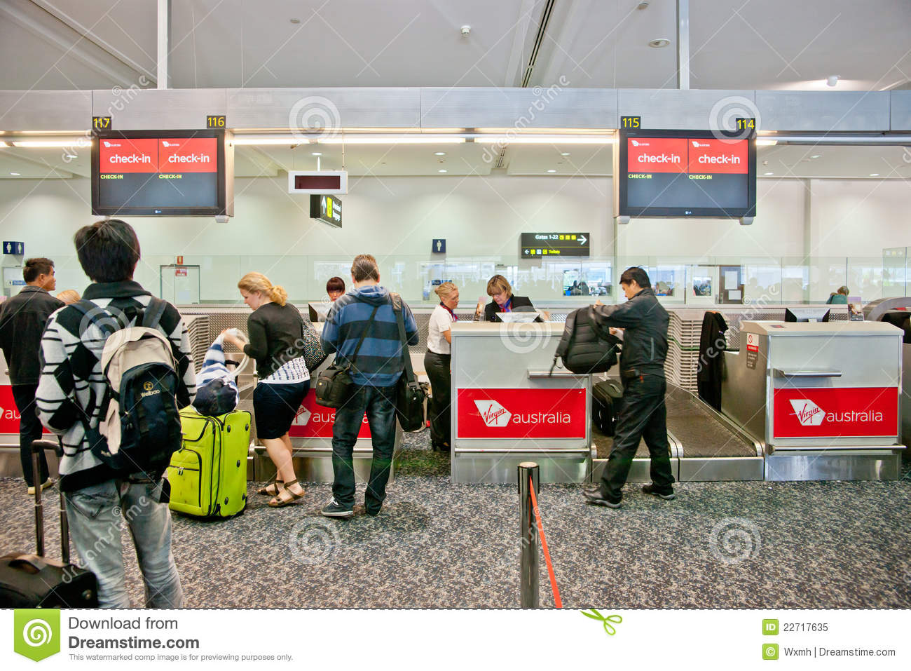 Airport Check In Process Editorial Image Image Of Chinese