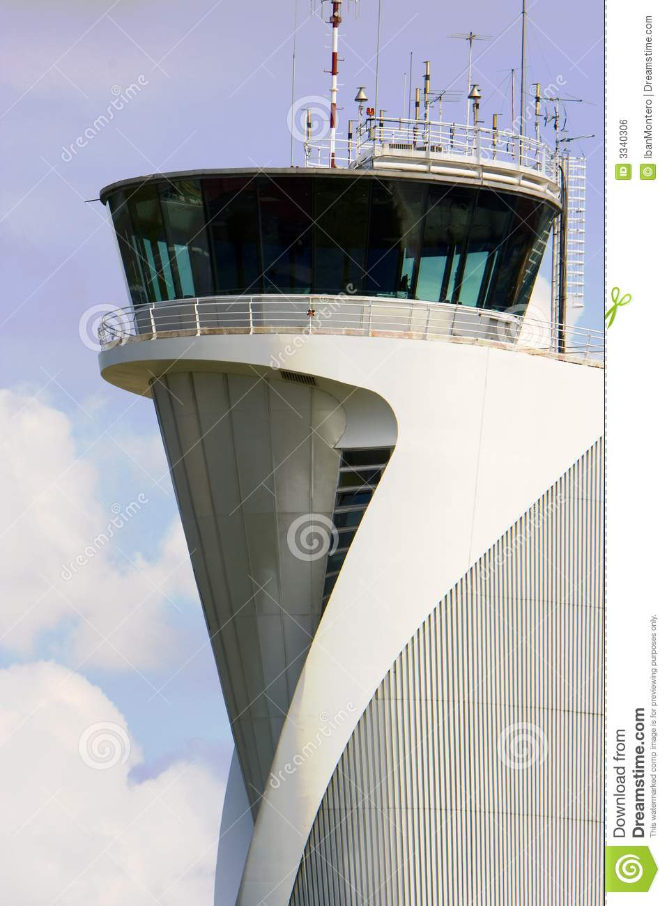 Airport Control Tower Building Editorial Photo Image