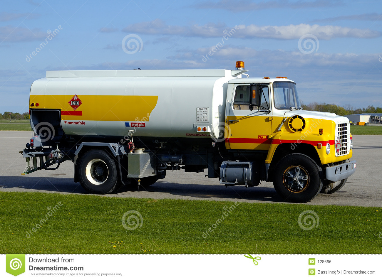 airport gas truck w paths stock photo image of fueler 128666. Black Bedroom Furniture Sets. Home Design Ideas