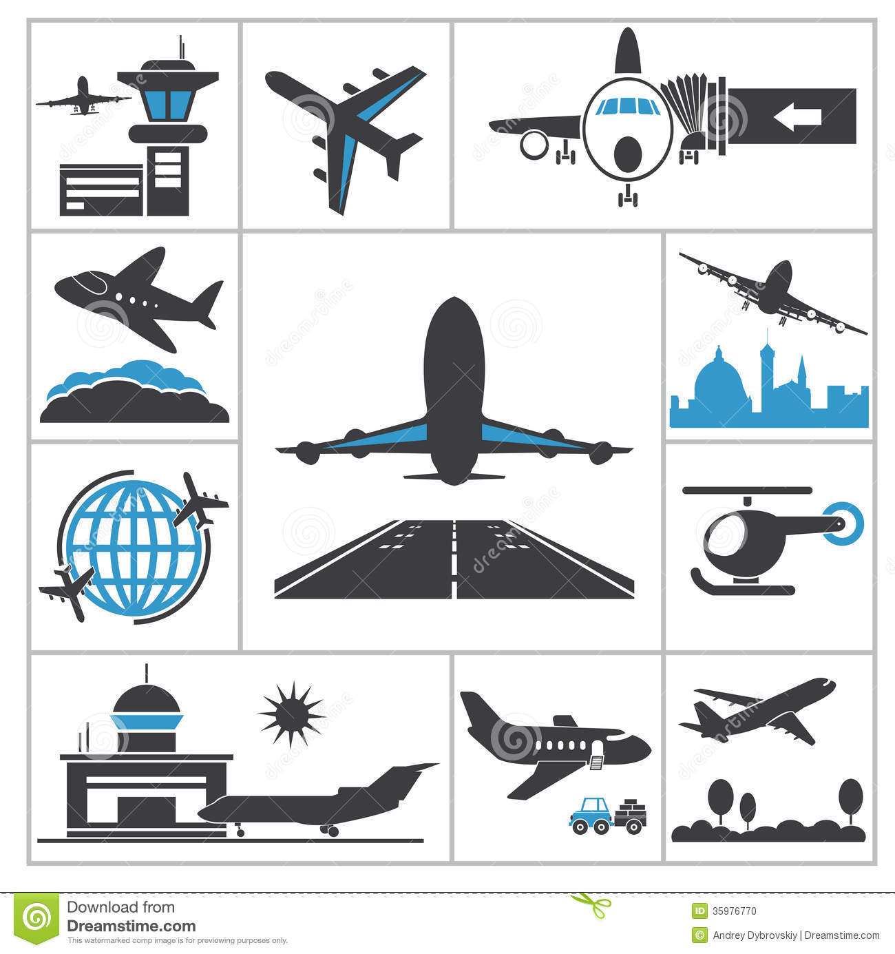 Airport Icon Stock Photos, Images, & Pictures 9,911 Images - 1300x1385 ...