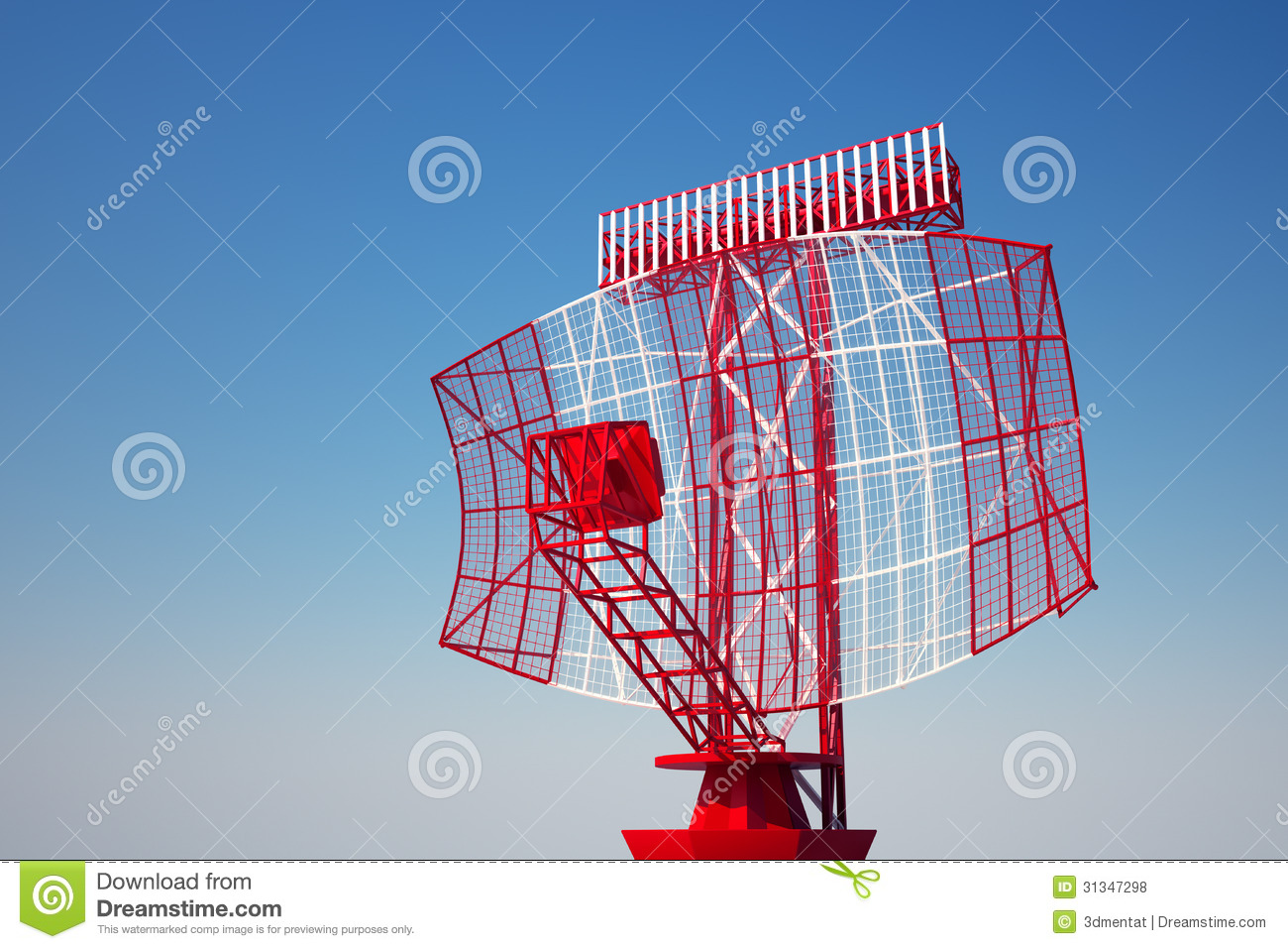 airport radar  stock illustration  illustration of airline