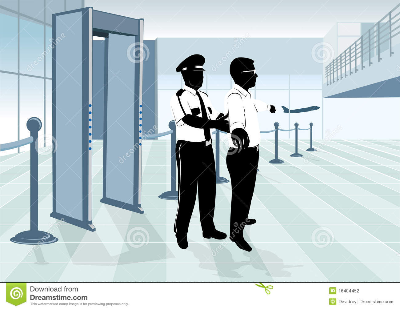 free clipart airport security - photo #27