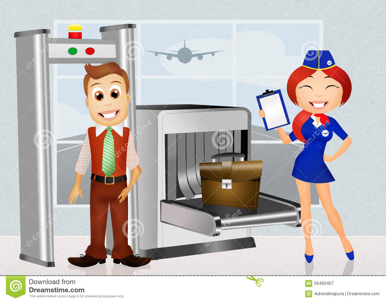 free clipart airport security - photo #9