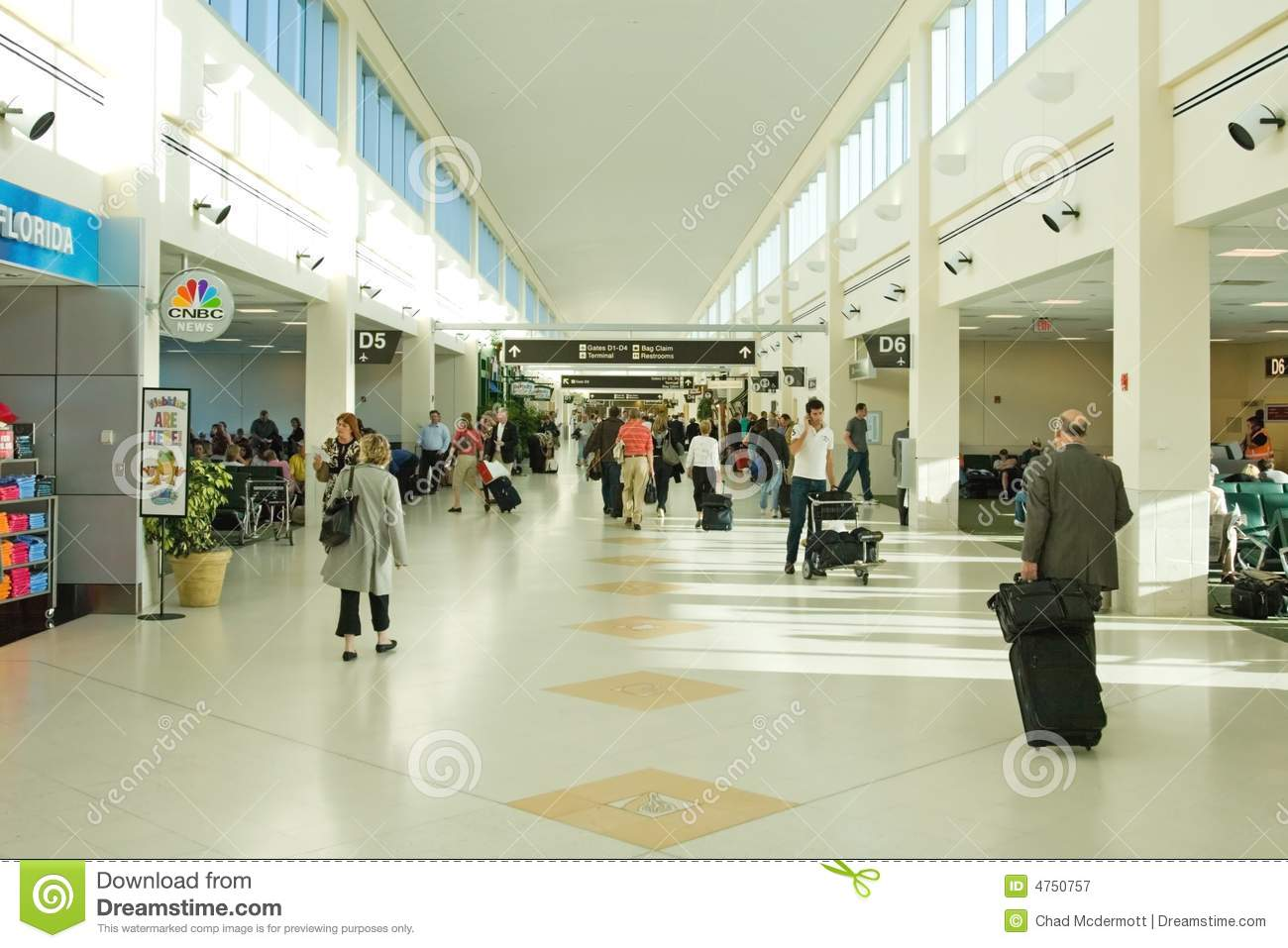 Airport Terminal Editorial Photography - Image: 4750757