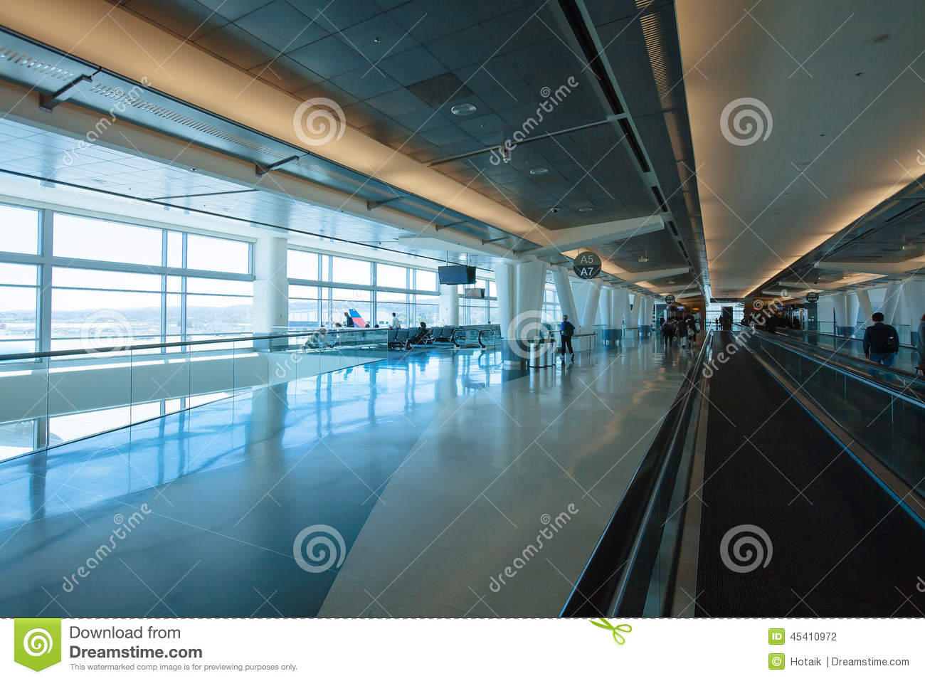 Airport Terminal Editorial Photography - Image: 45410972