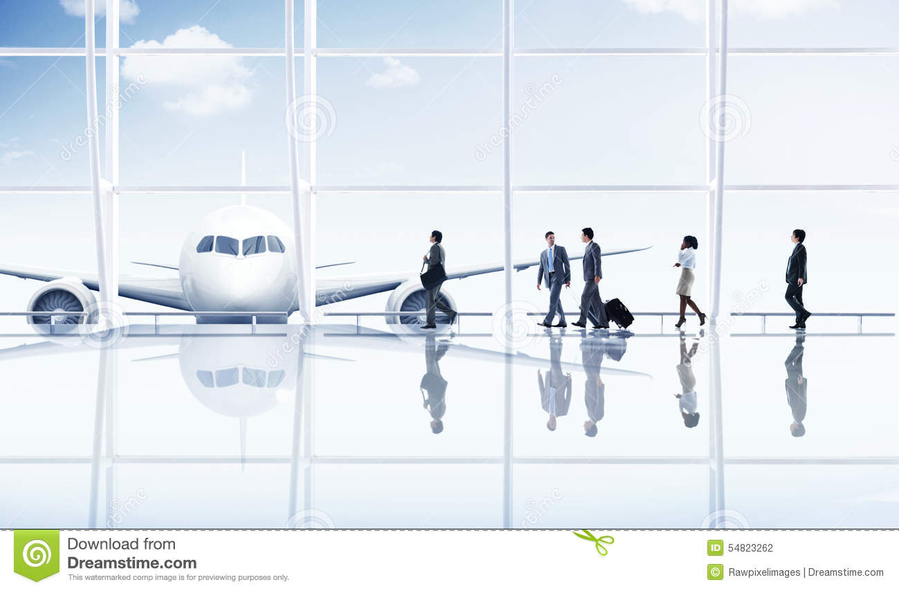 Free Images Traveling People Airport Bridge Business: Airport Travel Business Trip Transportation Airplane