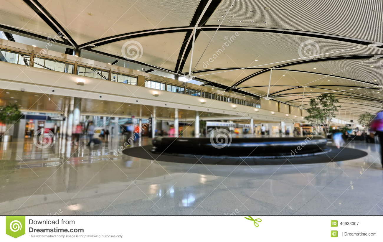 Airport Travelers Time Lapse Detroit Stock Video Video Of Lapse Bright 40933007