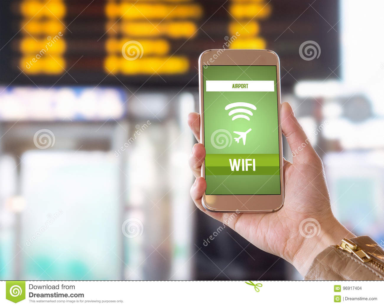 Free wifi concept. Wireless technology devices with wifi internet.