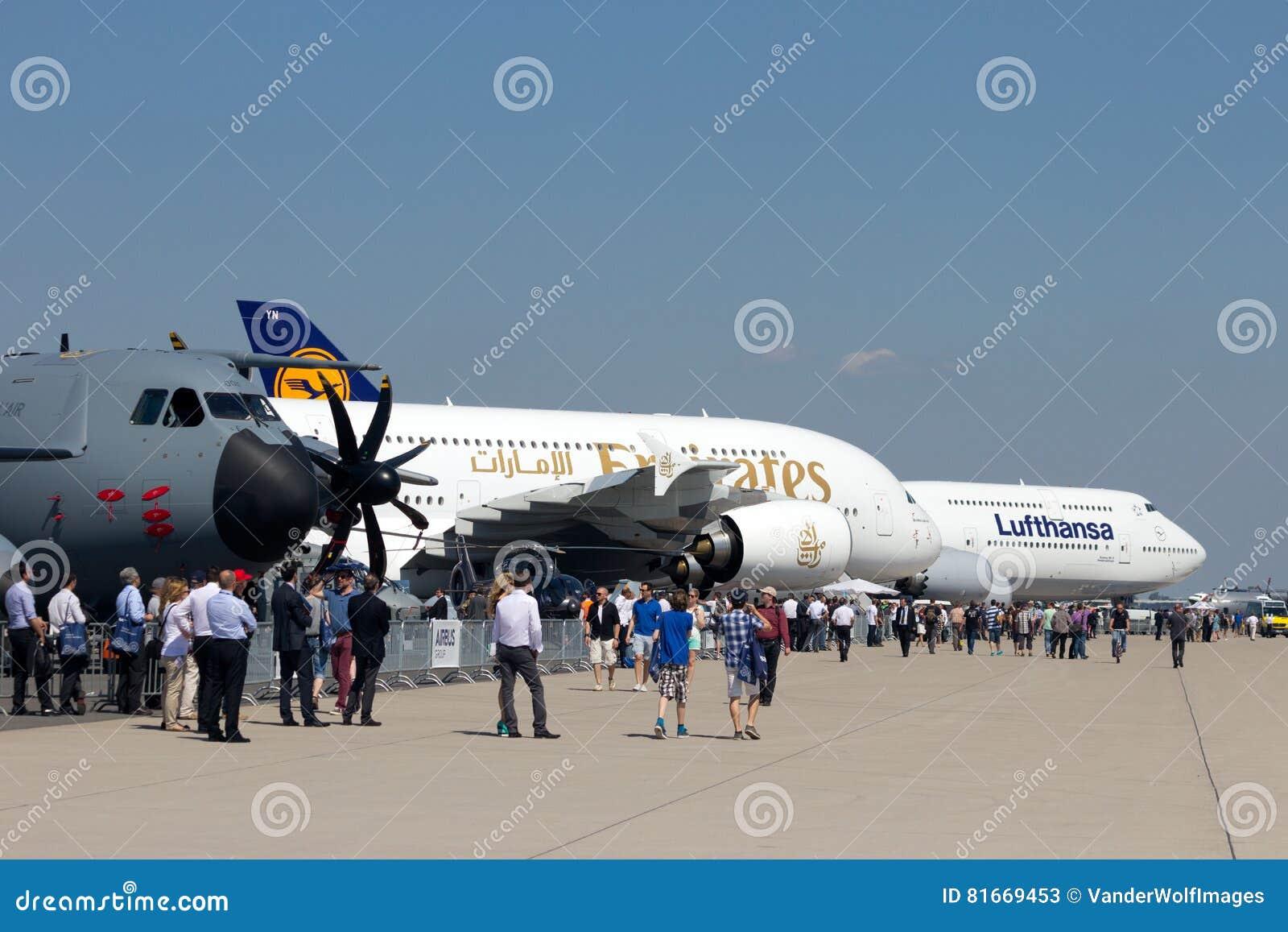 Airshow aeroespacial internacional de la exposición