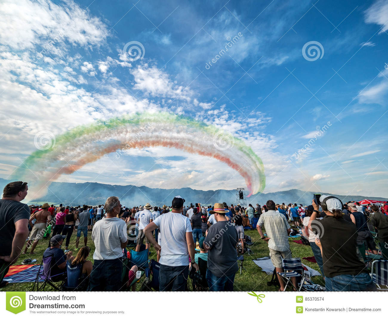 Airshow Crowd