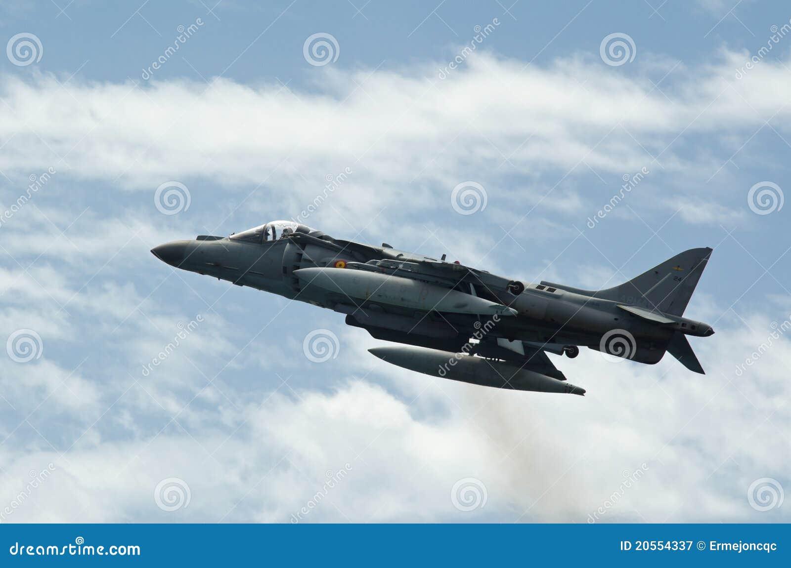 Airshow del corredor de cross AV-B8 de los aviones