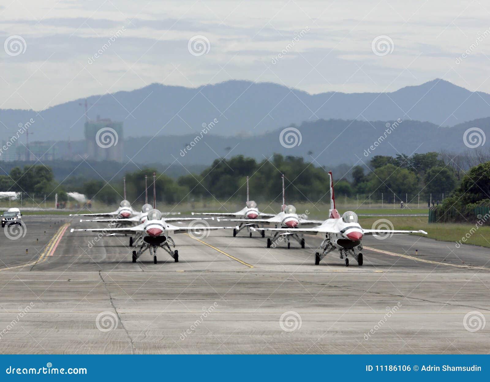 Airshow thunderbirdów usaf