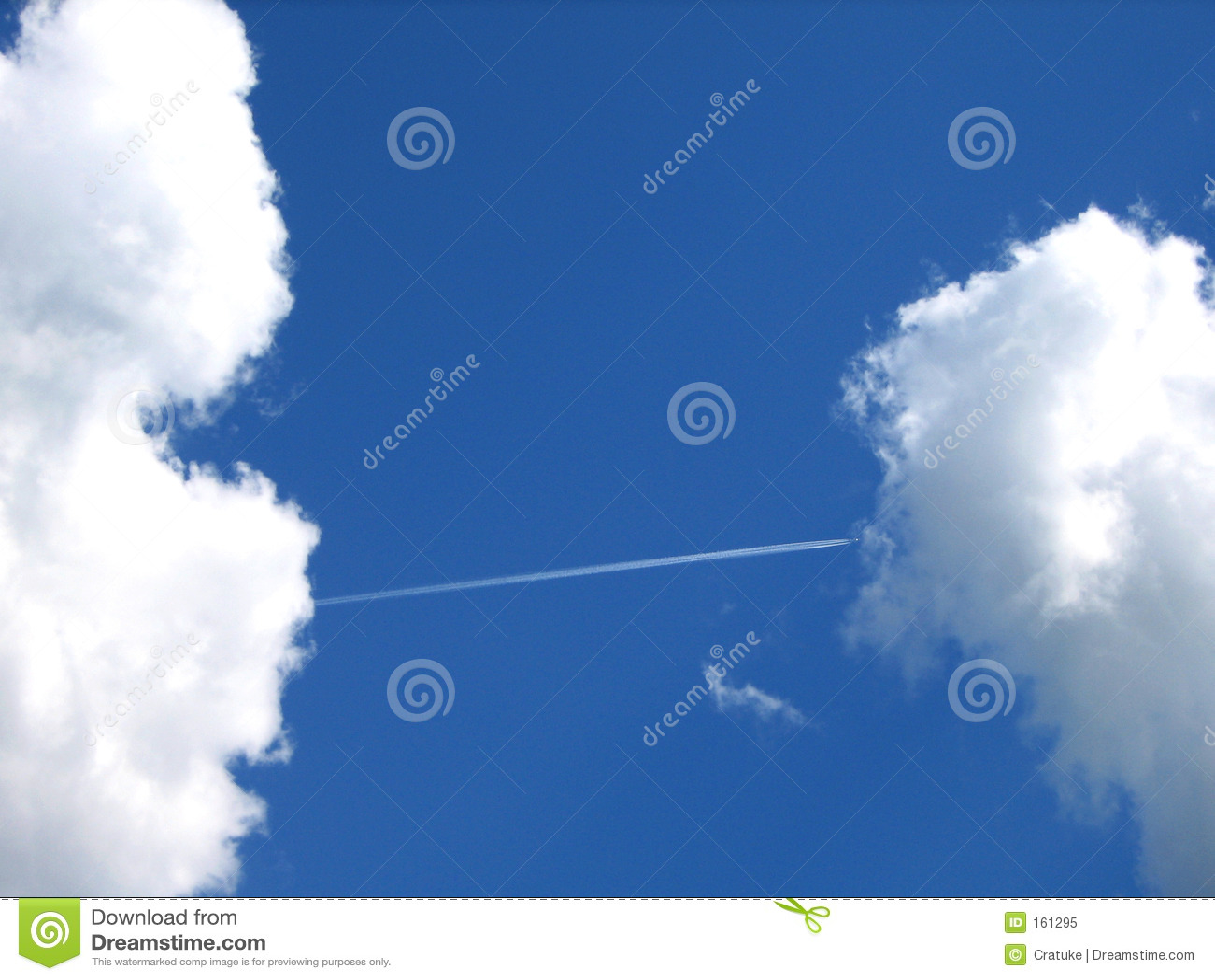 Download Airway-like A Bridge Between Clouds Stock Image - Image of mild, airplane: 161295