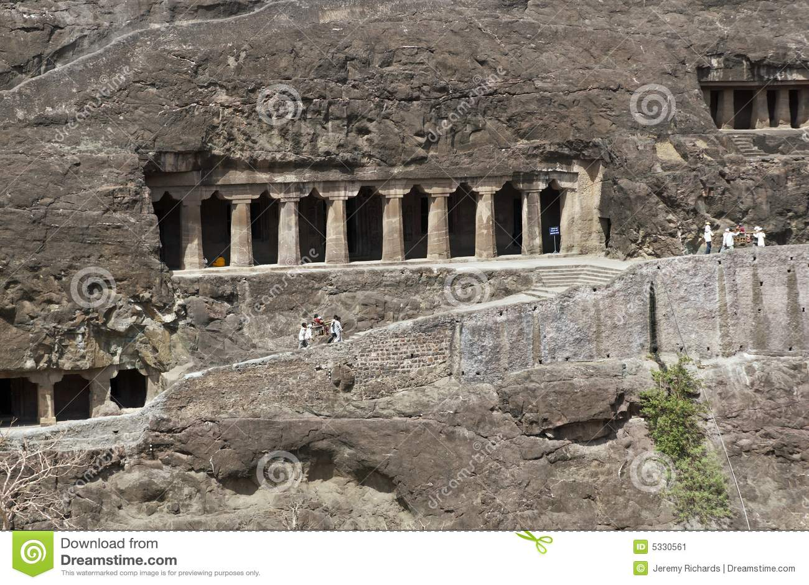 Ajanta starożytne buddyjskie świątynie rockowe