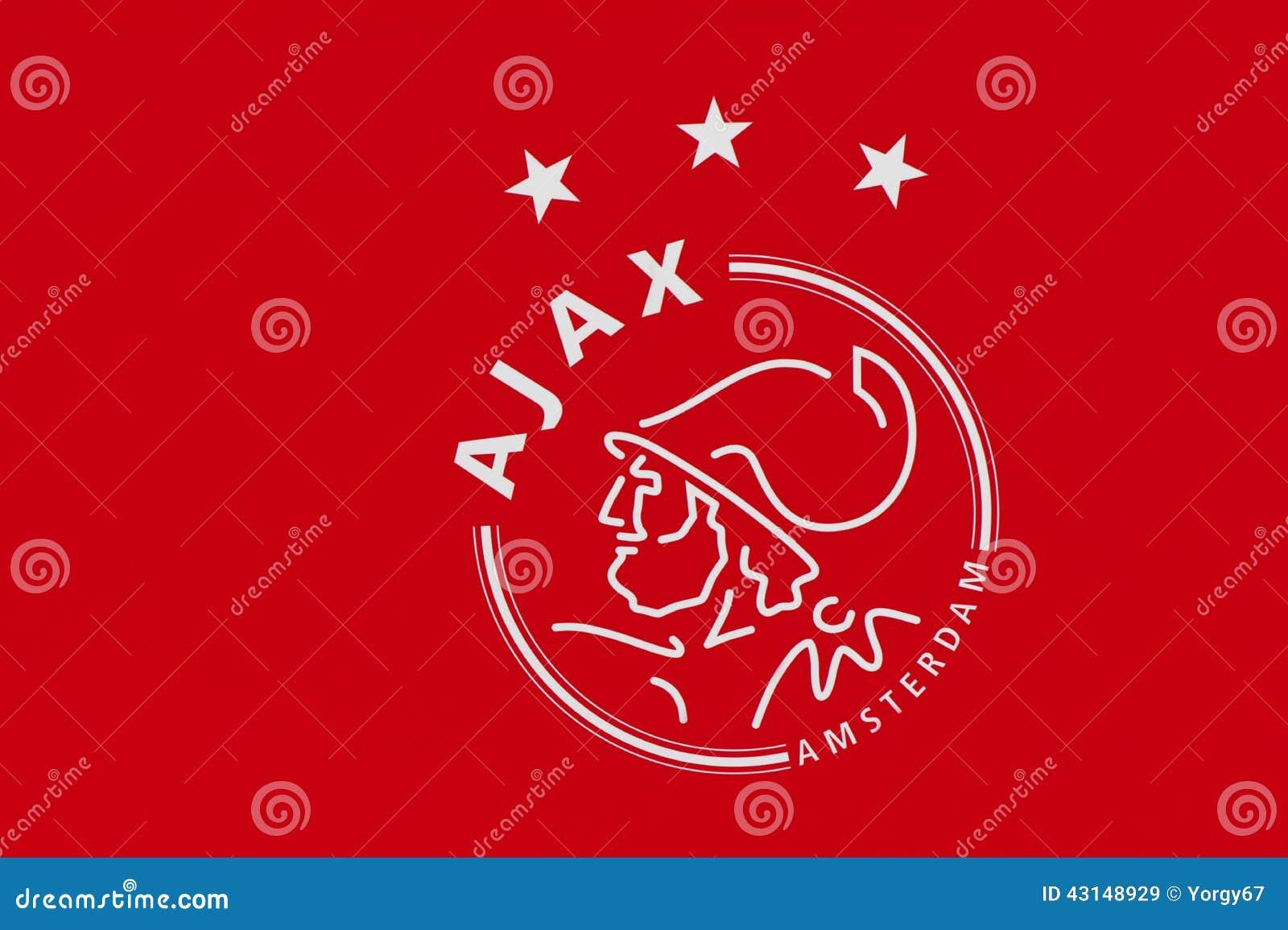 Ajax Football Club Emblem Editorial Stock Image Image