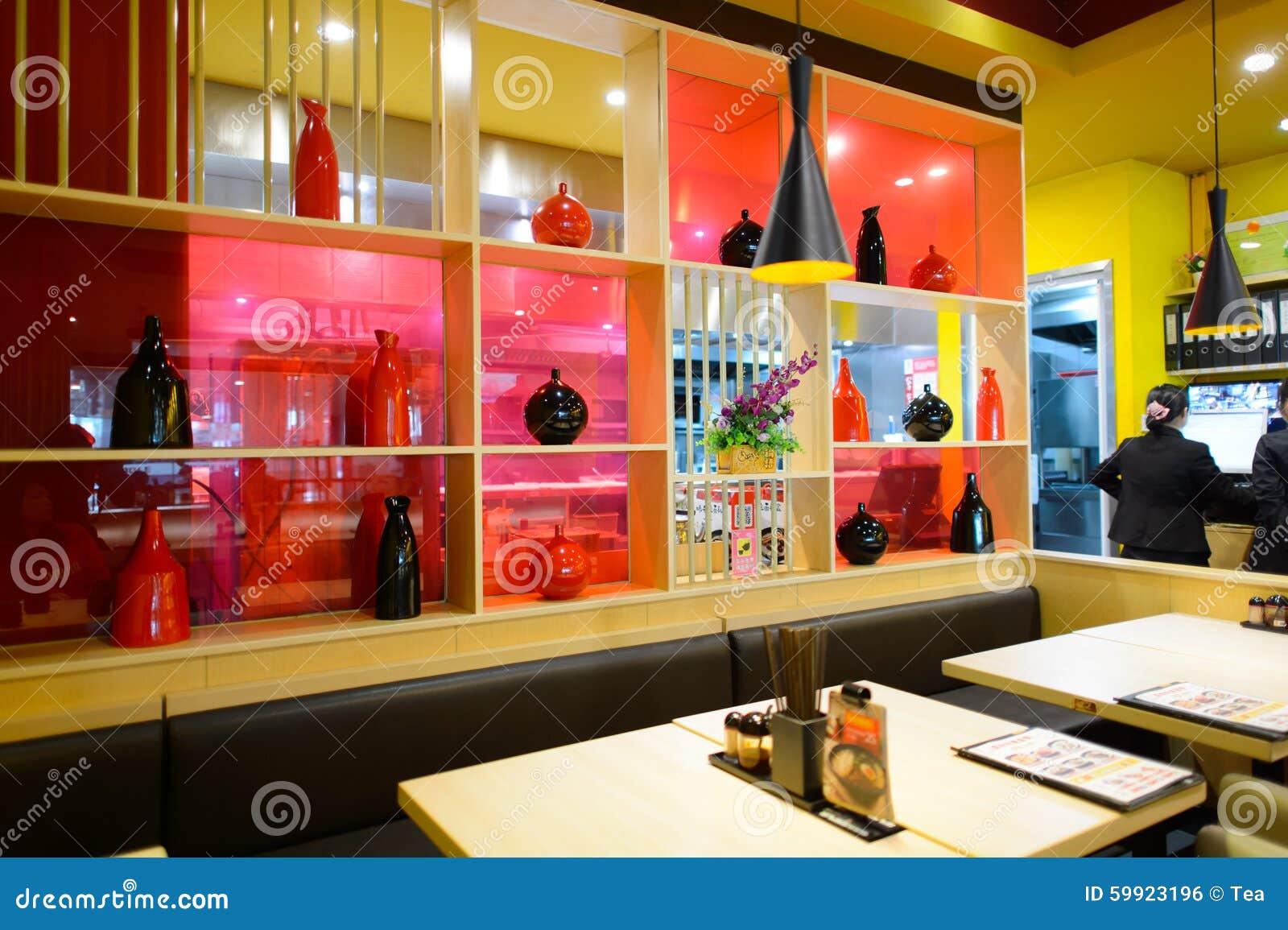Ajisen Ramen Restaurant Interior Editorial Photo Image Of China