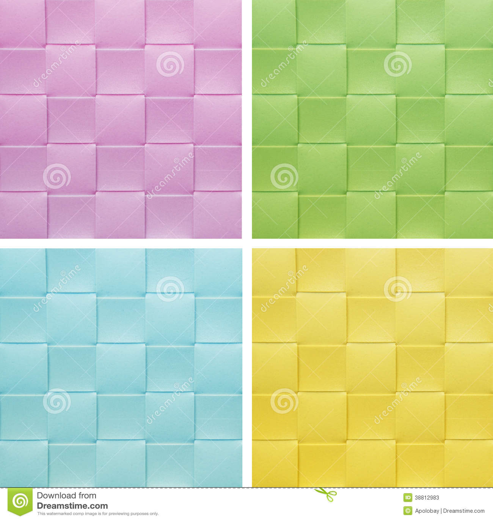 Ajuste a coleção Placemat colorido,