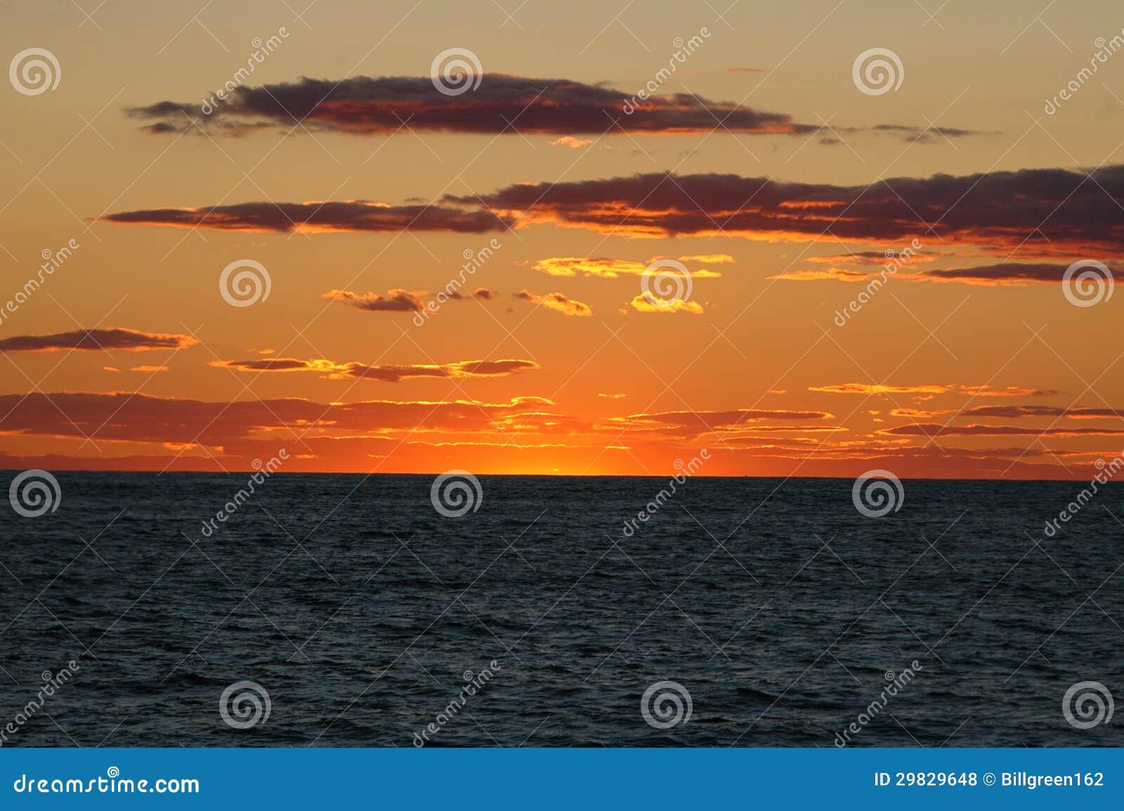 Por do sol em Cape Cod
