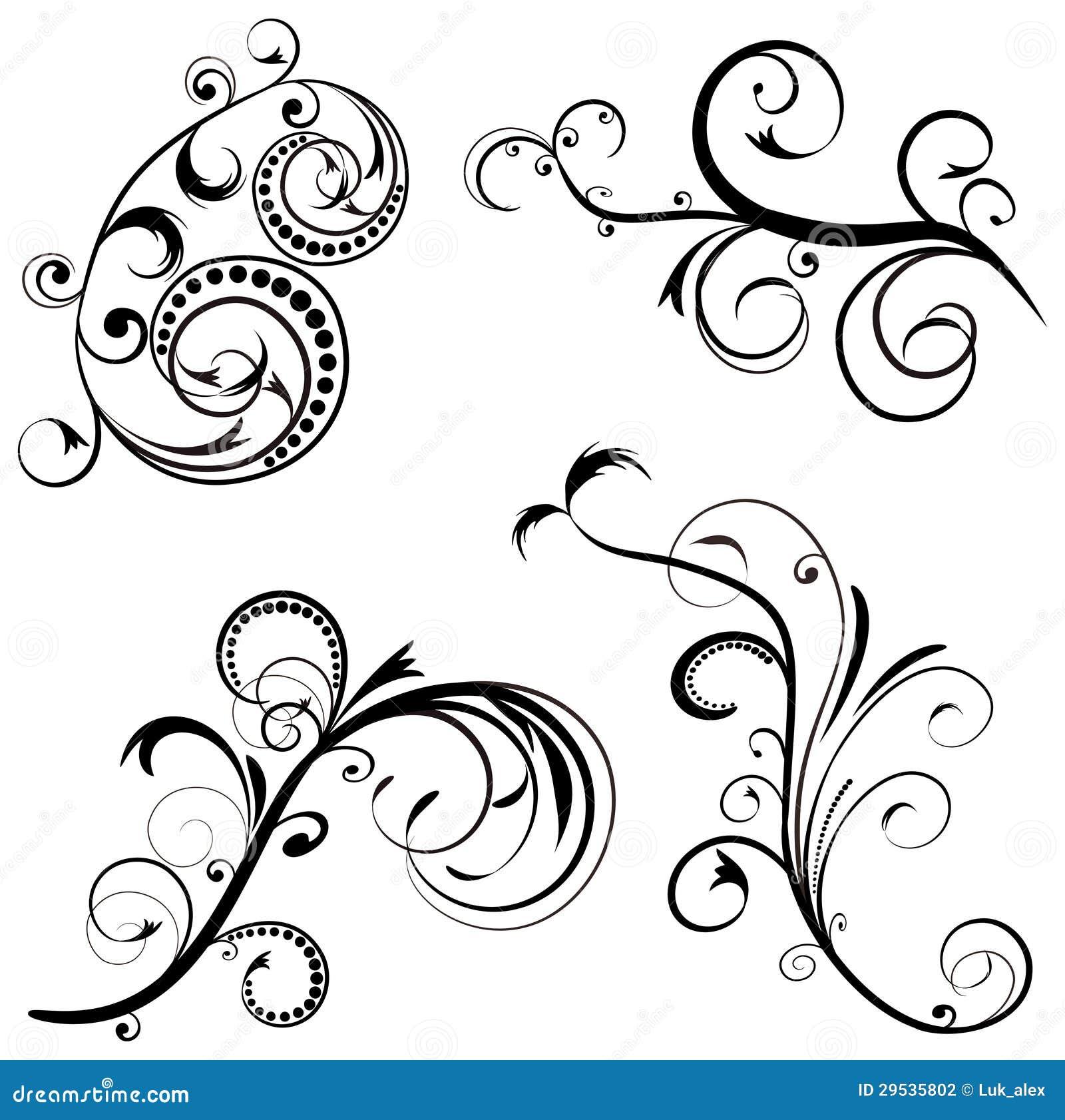 Ajuste o design floral do ornamento.
