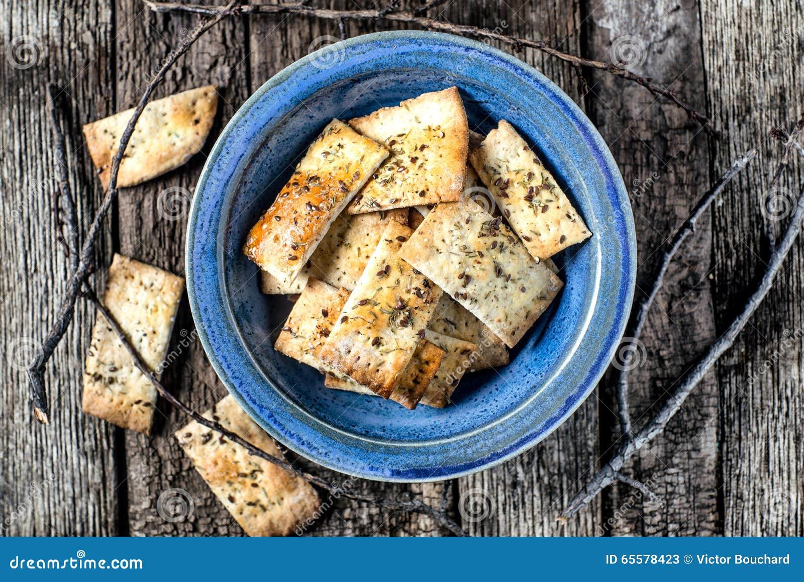 Ajuste rústico dos biscoitos caseiros do artesão