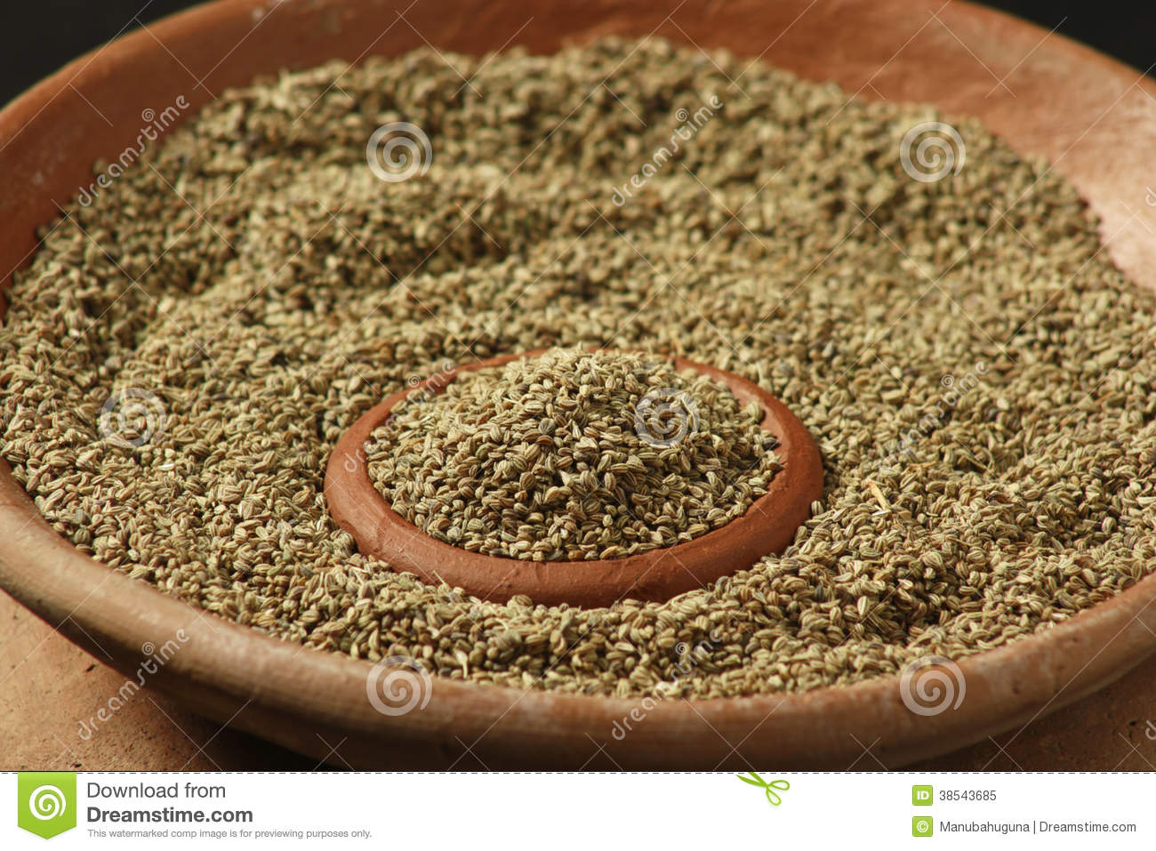 Ajwine or Carom Seeds stock image. Image of cuisine ... Caraway Seeds Indian Name