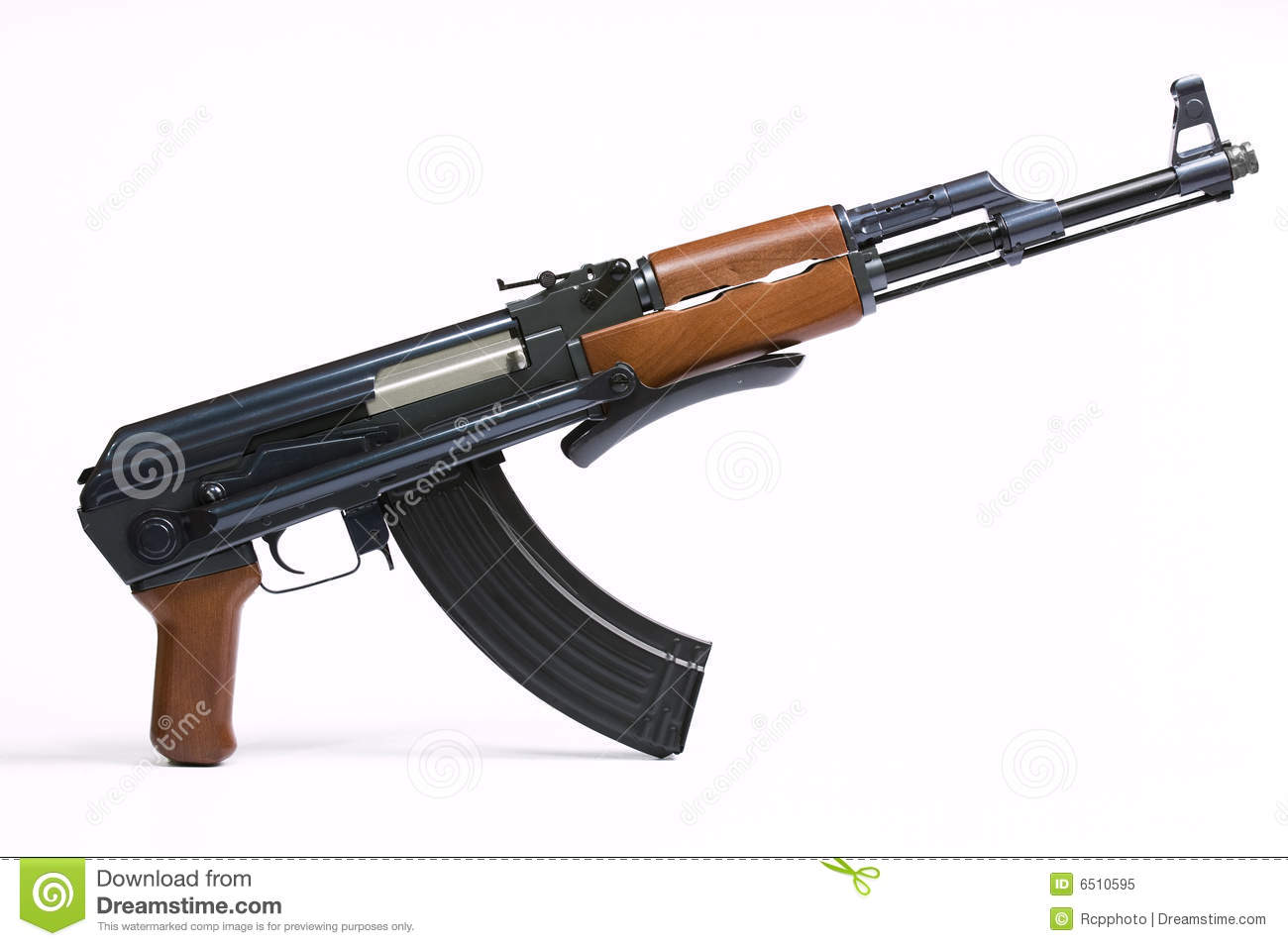 how to draw a ak 47 bullet