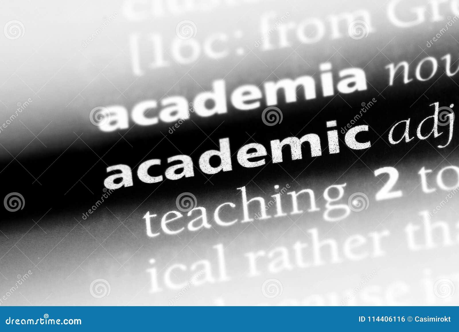 Akademisch