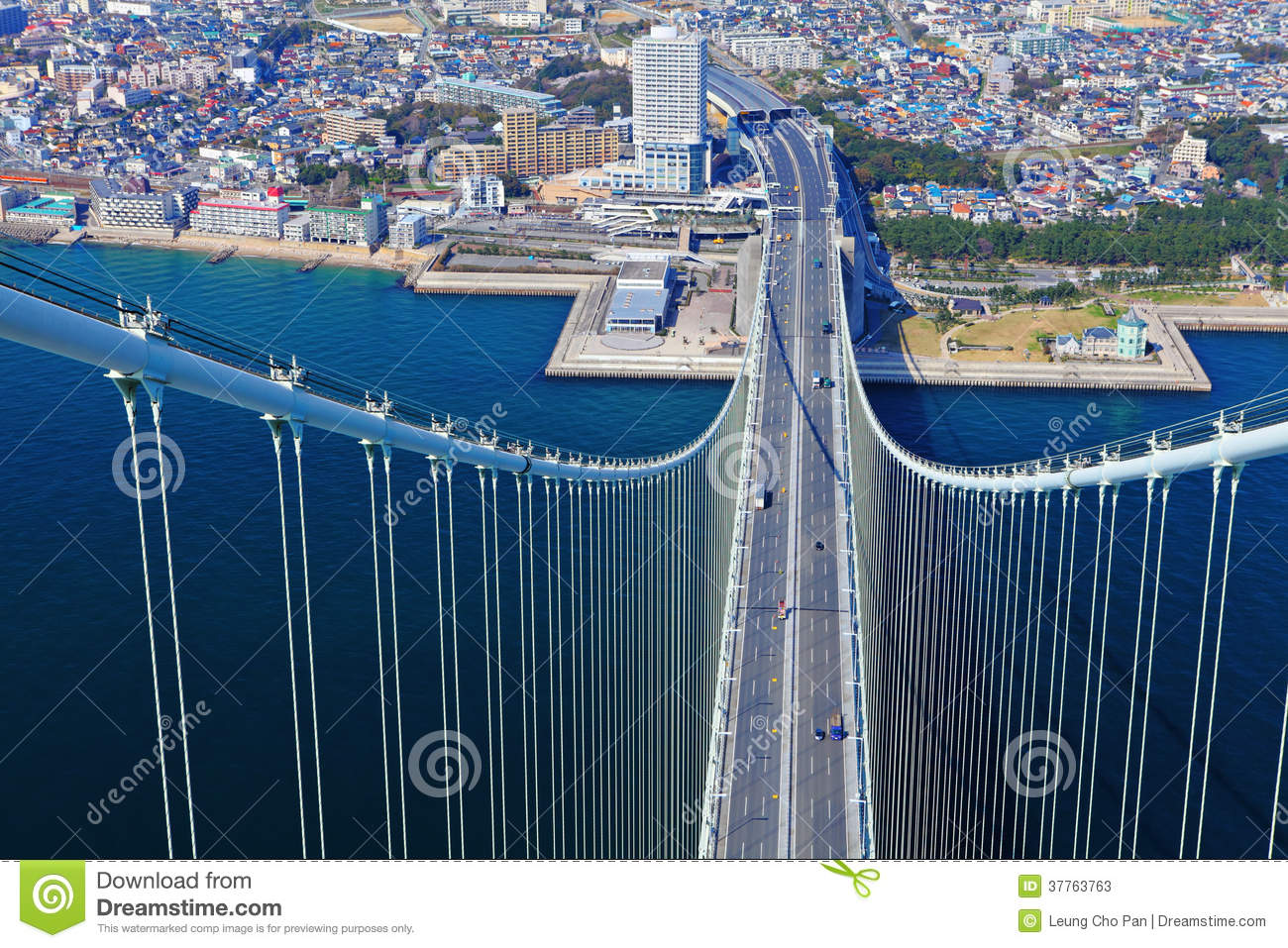 the background of the famous japan kaikyo bridge Provides the reader with informative background,  the akashi kaikyo bridge of japan,  a history of the world's most famous and important spans.