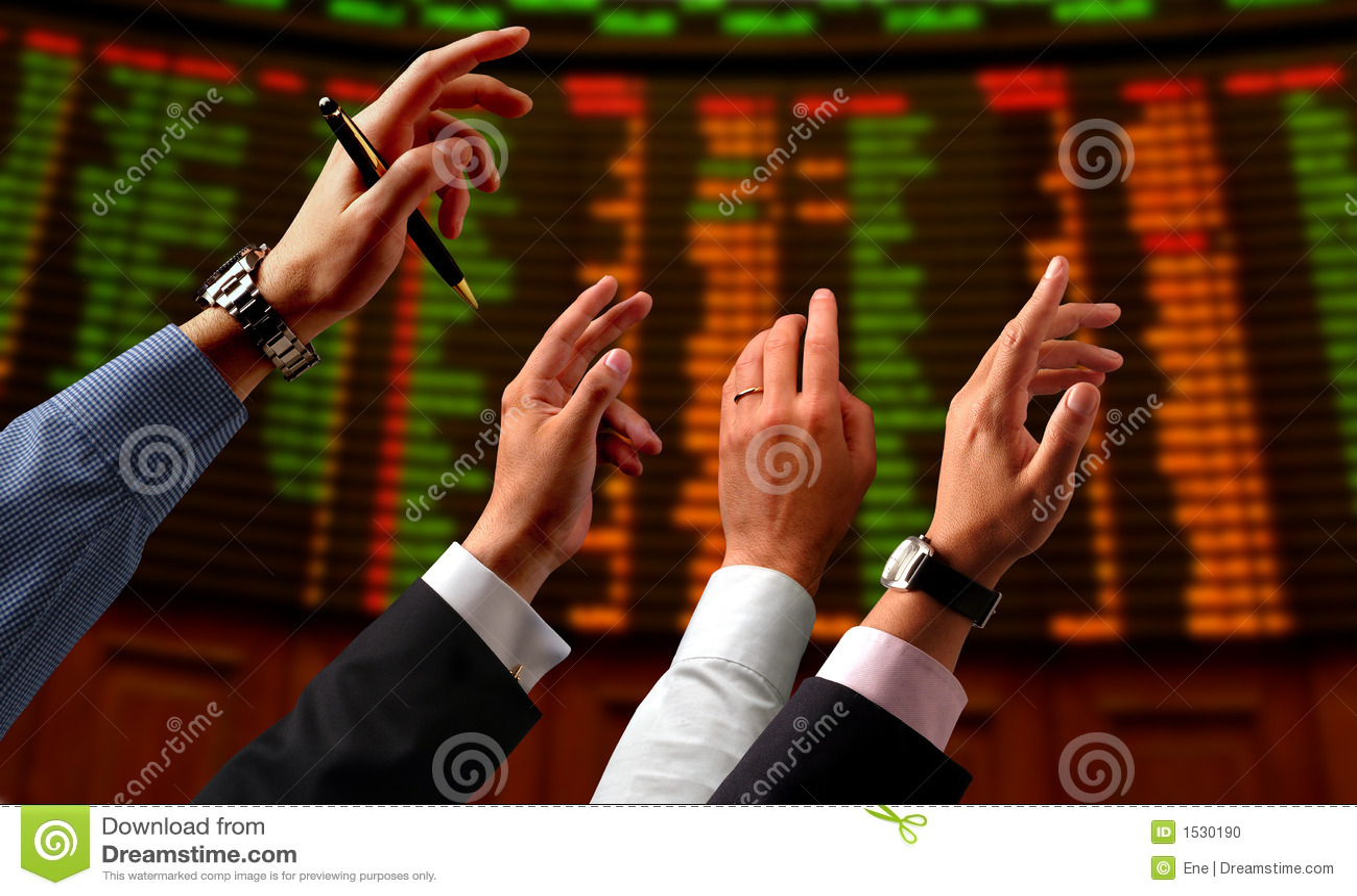 Akcje rynku