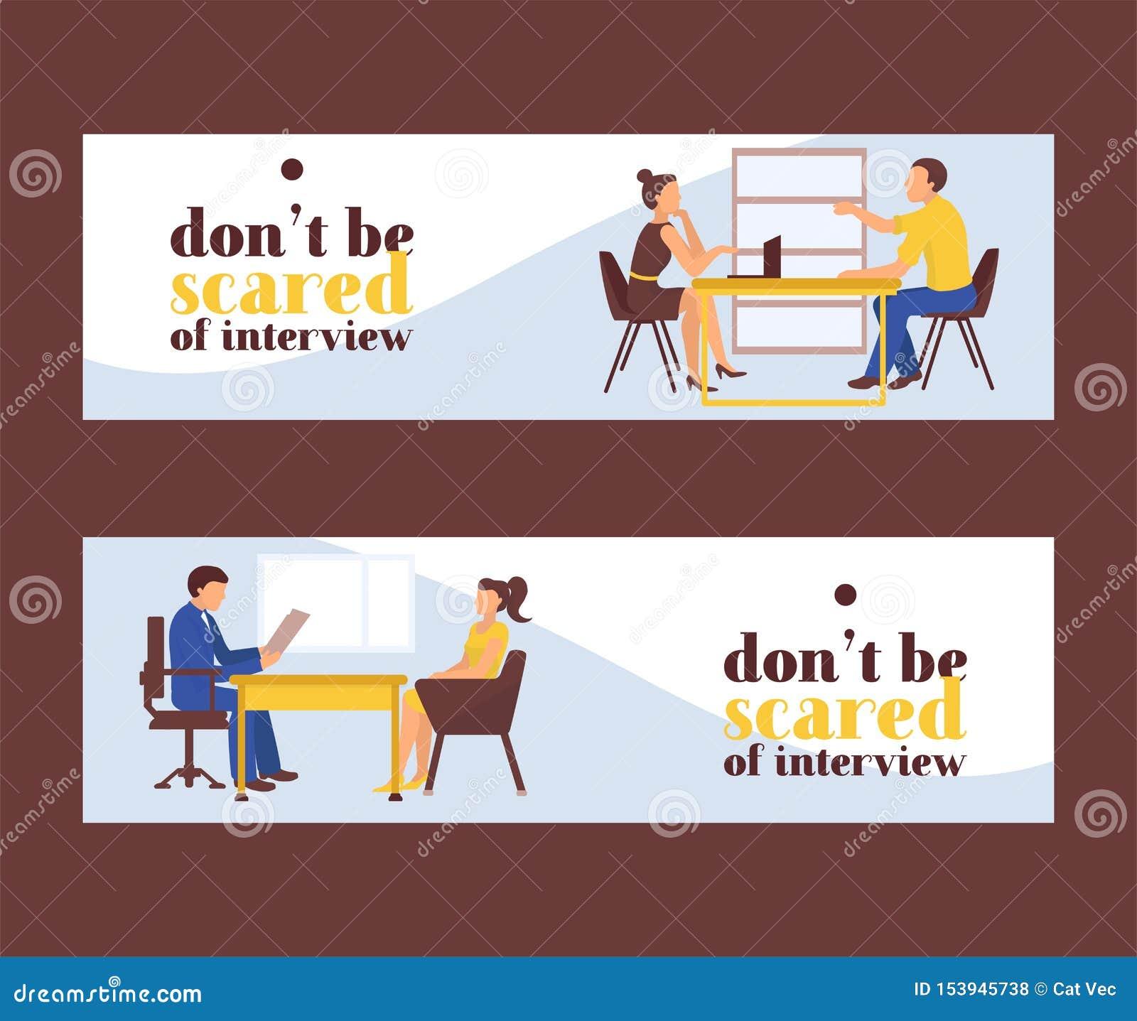 Akcydensowego wywiadu kobiet wektoru ilustracja Jobseeker i pracodawca siedzimy przy sto?em i opowiadamy Dobry wra?enie kciuki w
