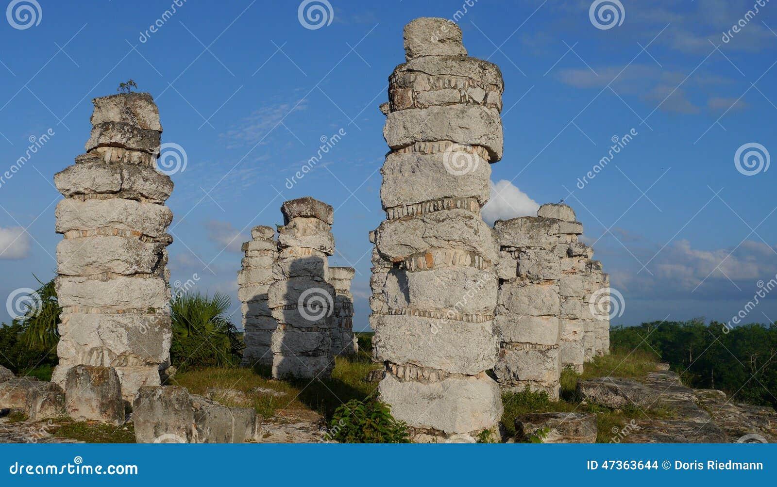 Ake pyramid Maya mexico history culture travel sigtseeing tourism
