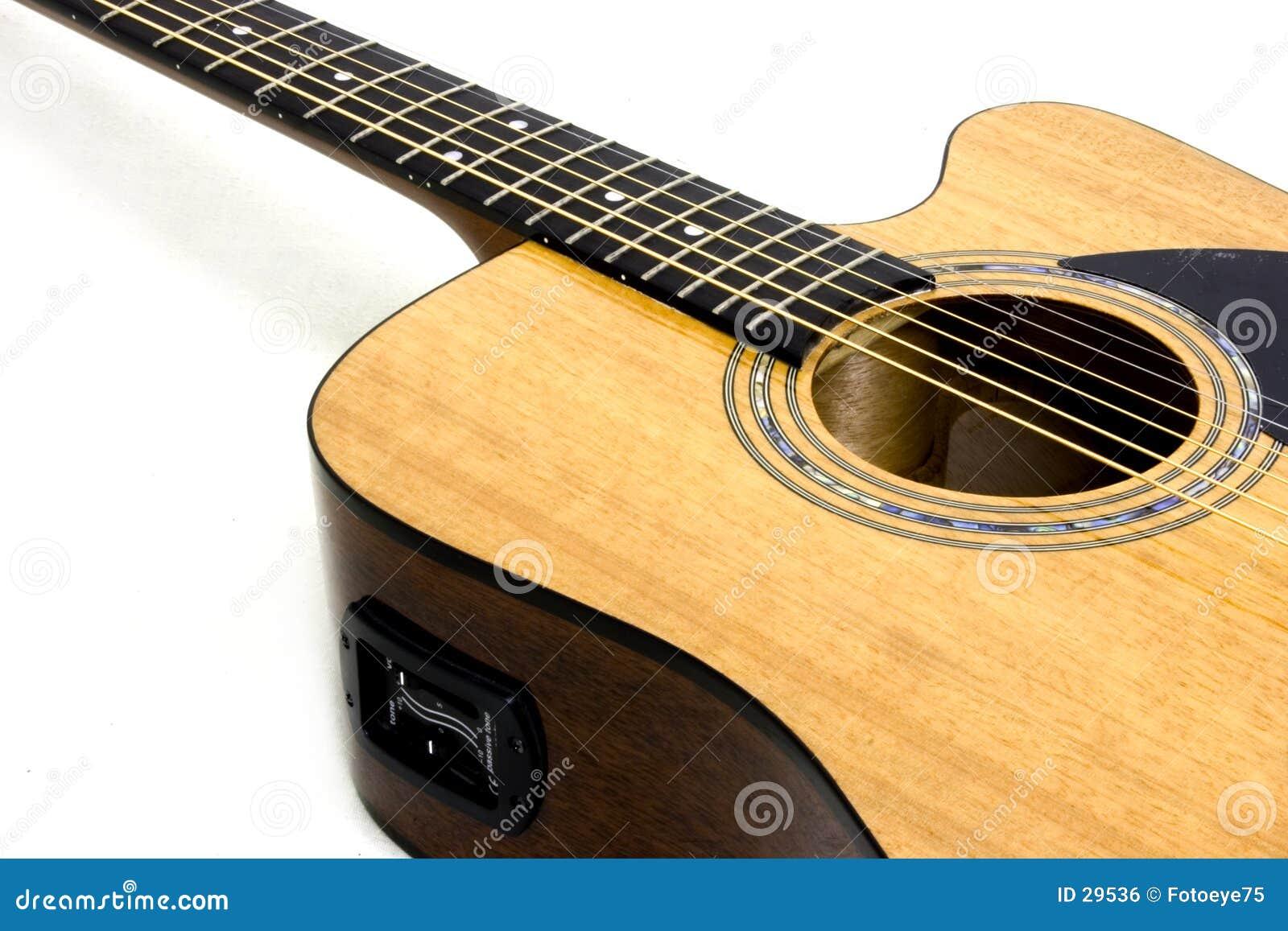 Akoestische/elektrische gitaar