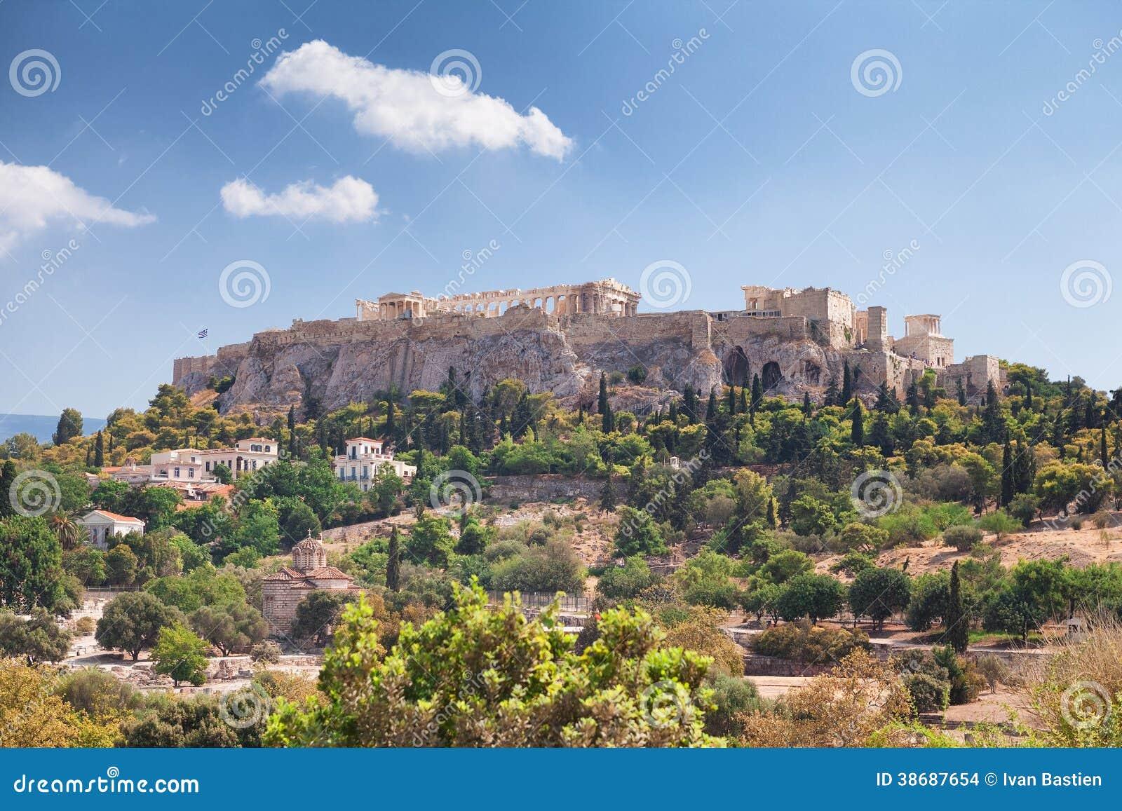 Akropol w Ateny, Grecja