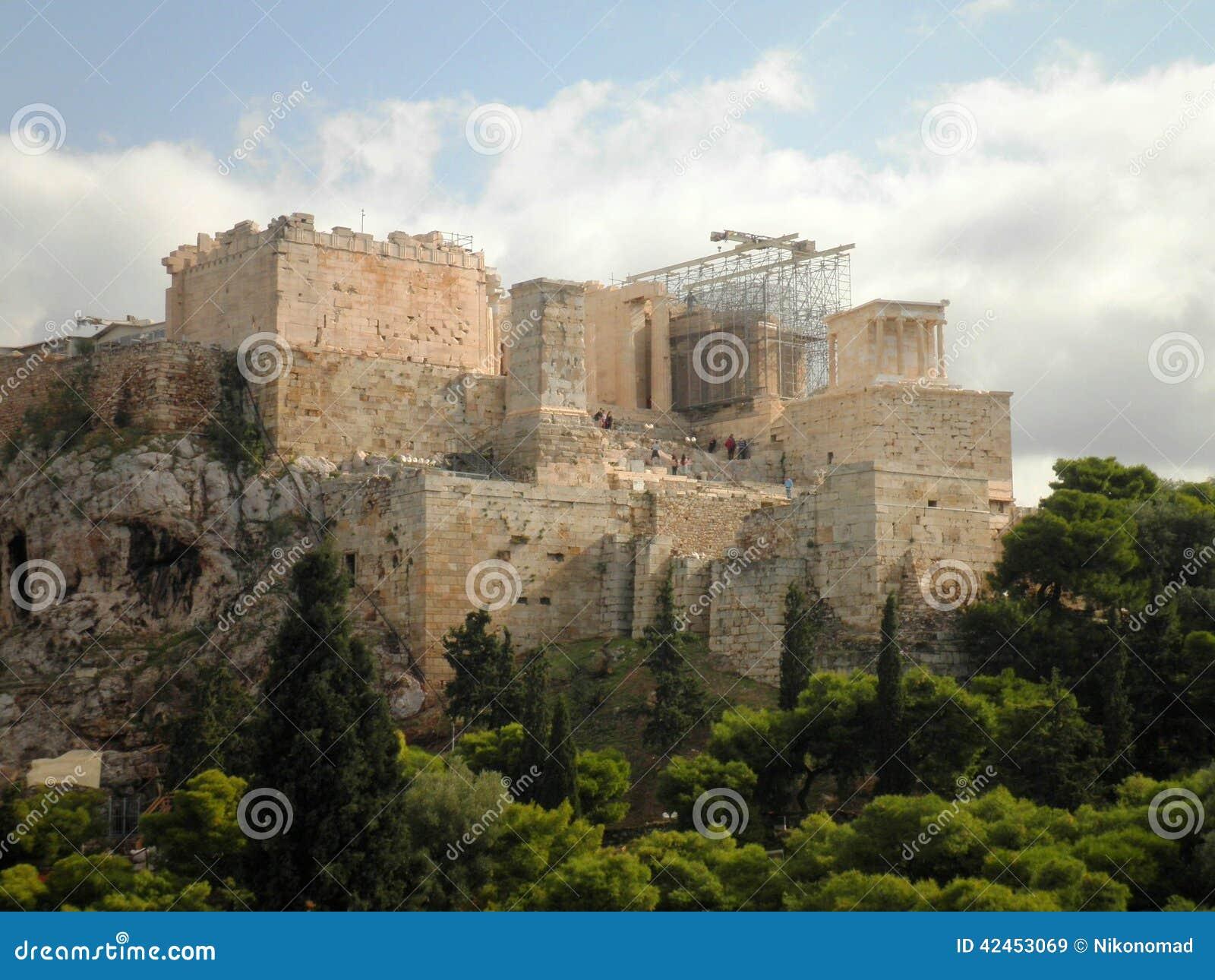 Akropolis Athen Griechenland