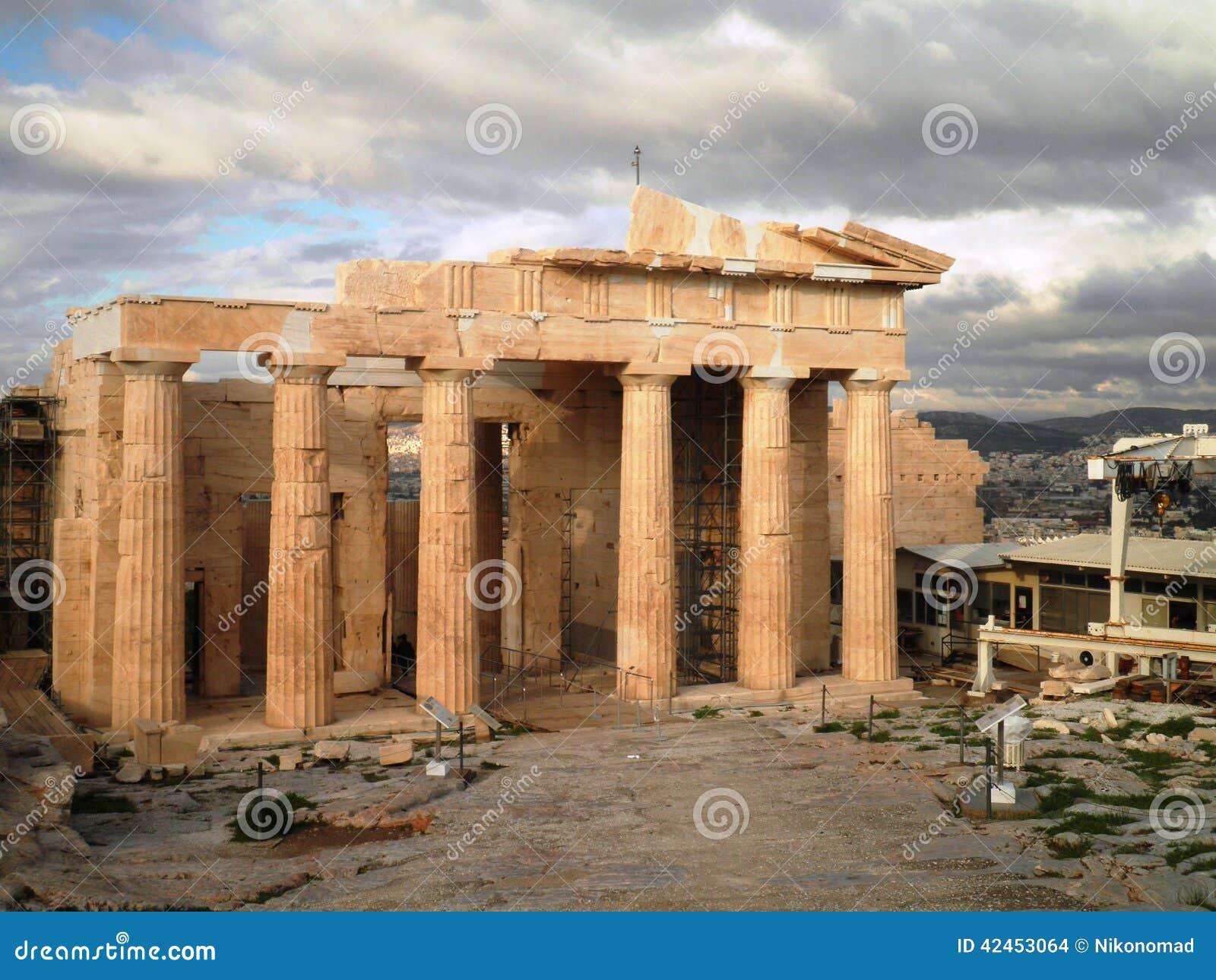 Akropolis-Tempel Athen Griechenland