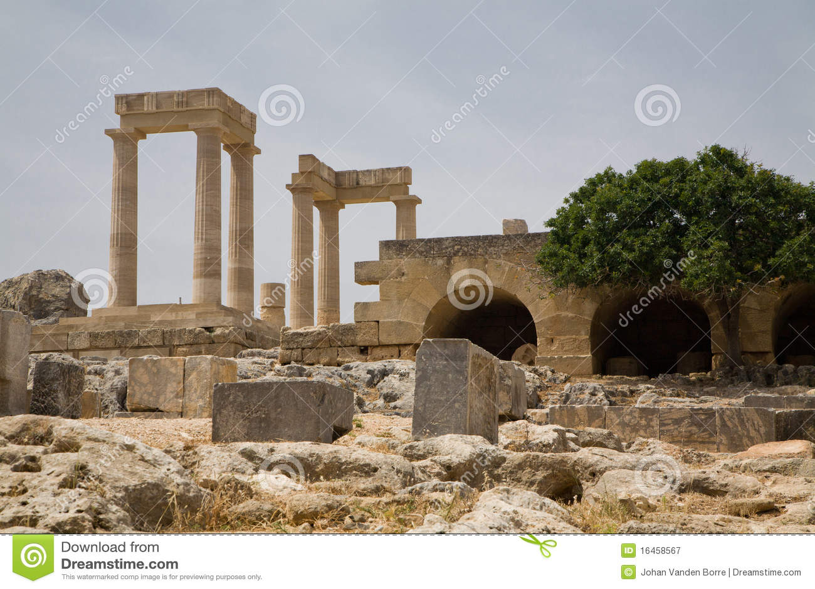 Akropolu Greece lindos
