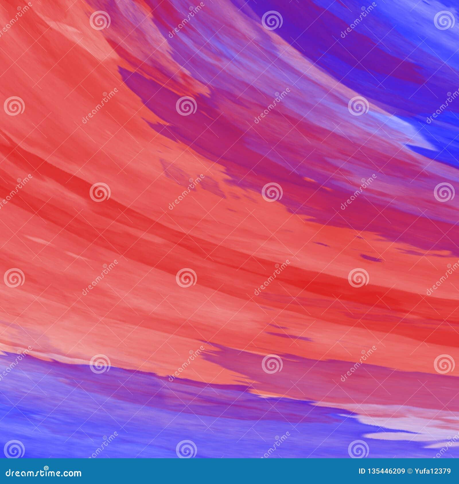 Akrylabstrakt begrepp Closeup av målningen färgrik abstrakt bakgrund