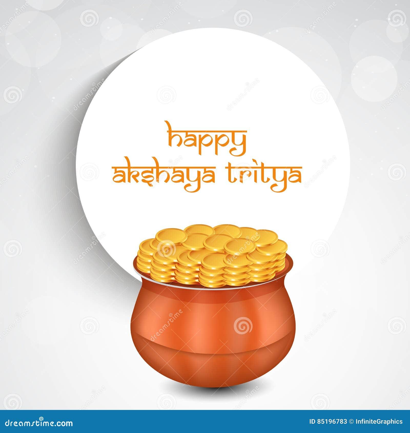Akshaya Tritiya Background Illustration 85196783 Megapixl