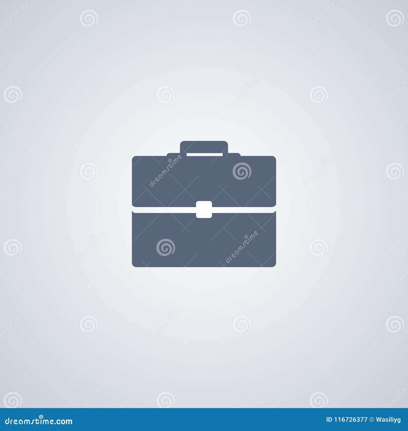 Aktentas, Zak, vector beste vlak pictogram