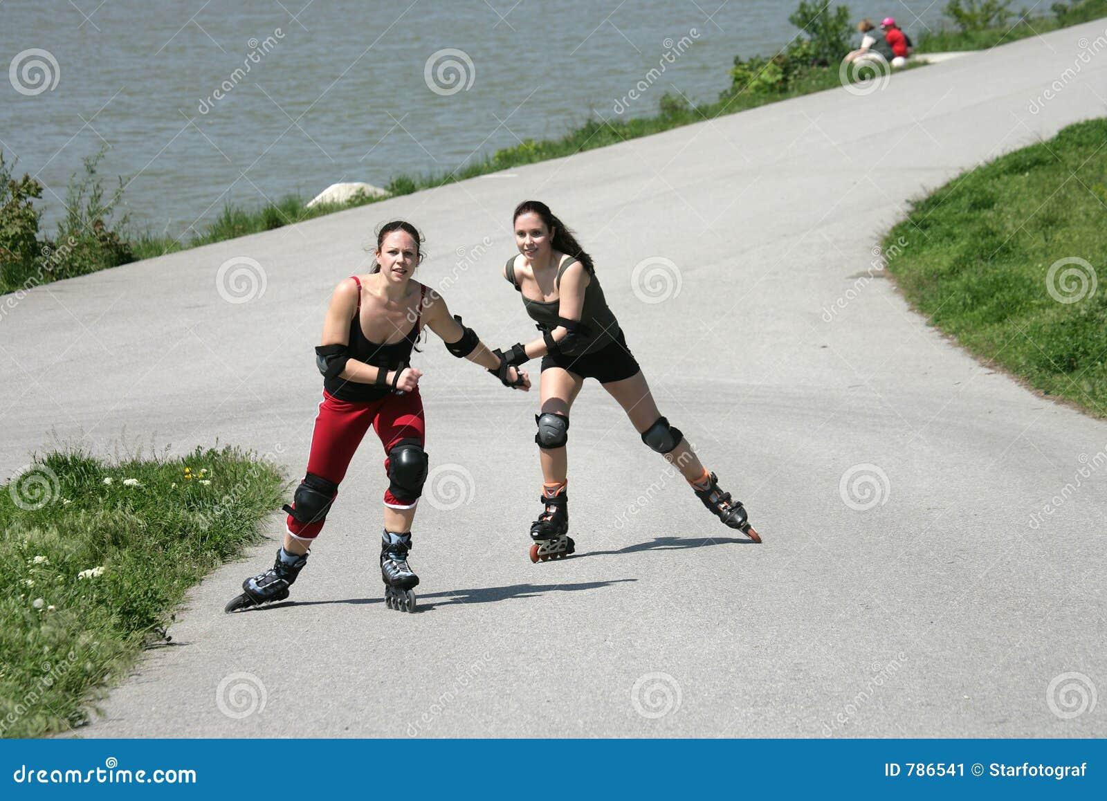 Aktiva flickor