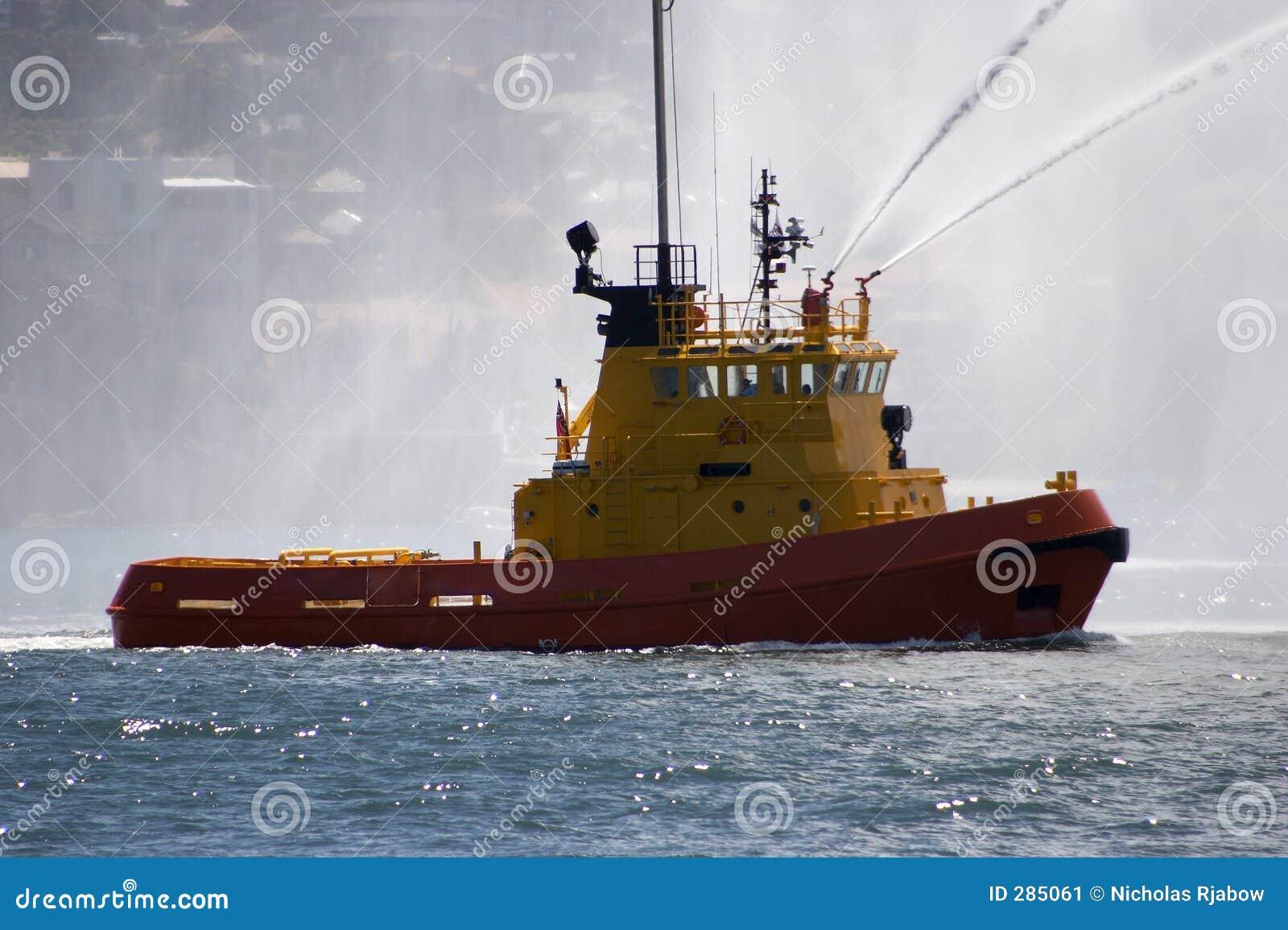 Aktivera bogserbåten