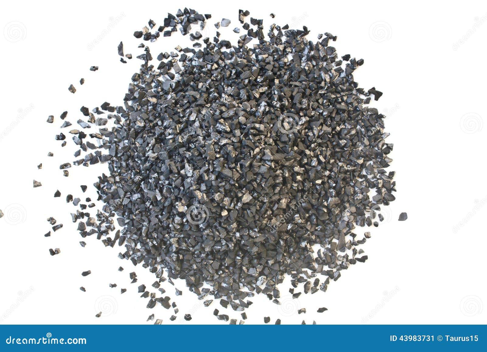 Aktiverat kol för textur för vattenbehandling