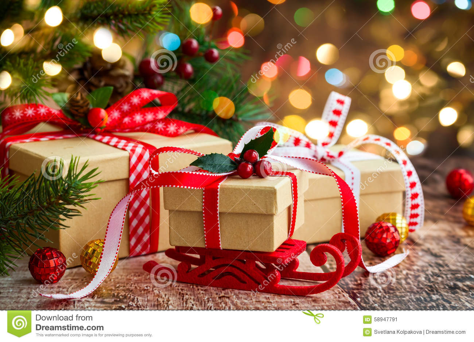Aktuell weihnachtspakete för jul