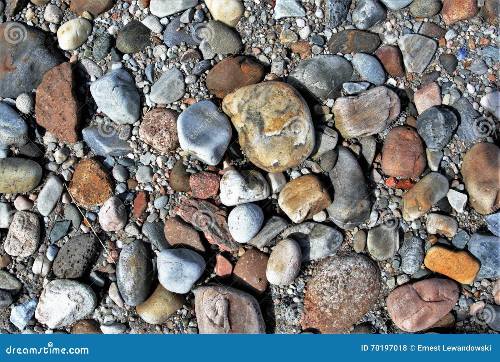 Aktuella stenar för strand