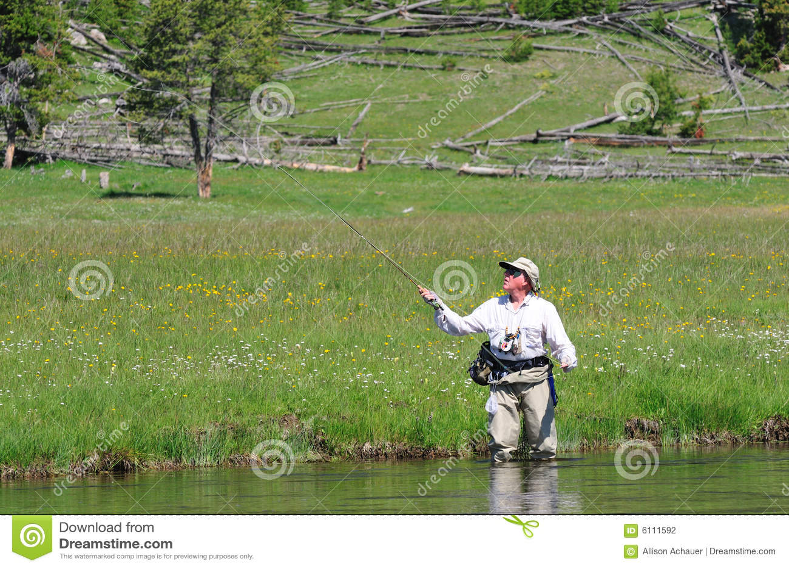 Aktywny senior rybaków