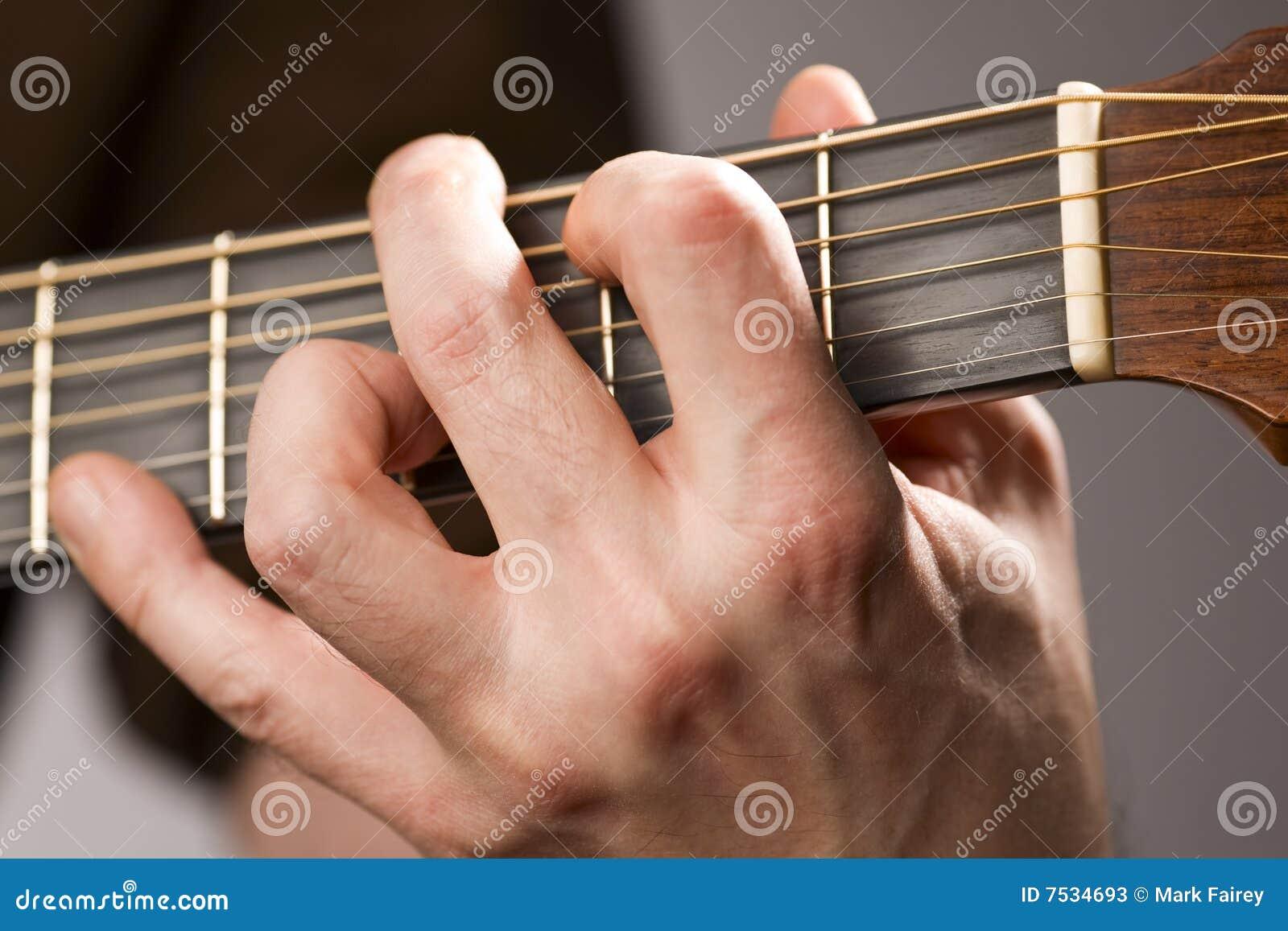 Akustisk ackordgitarr
